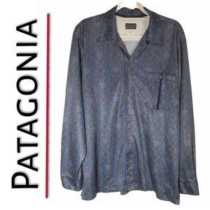 🆕️ Patagonia Semi-Sheer Soft Pattern Button-Up